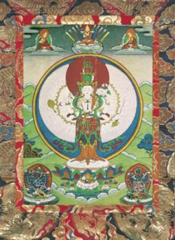 Tausendarmiger Avalokiteshvara (001-002A)